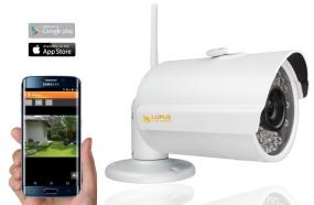 WLAN Infrarot HD Überwachungskamera LE201