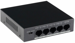 GOLIATH 4-Port PoE Switch + 1-Port Gigabit Uplink