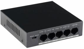 GOLIATH 4-Port PoE Switch + 1-Port Gigabit Uplink