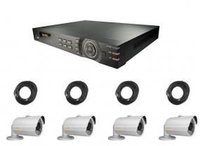 Überwachungskamera Set mit Full-HD Auflösung