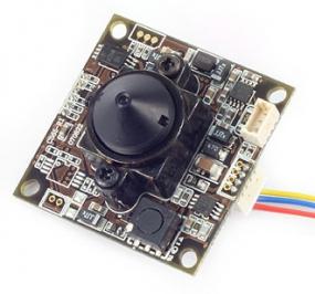 Color Tag/Nacht HADII CCD Minikamera - Modul mit 600 TV-Linien