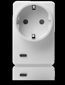 Funksteckdose mit Stromzähler und Repeater